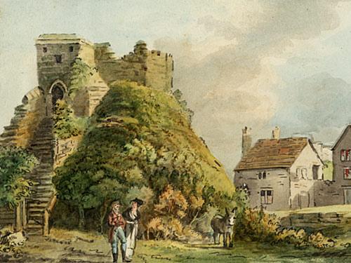 Carisbrooke Castle Keep by Nixon