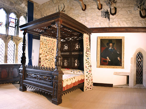 King Charles I bedroom