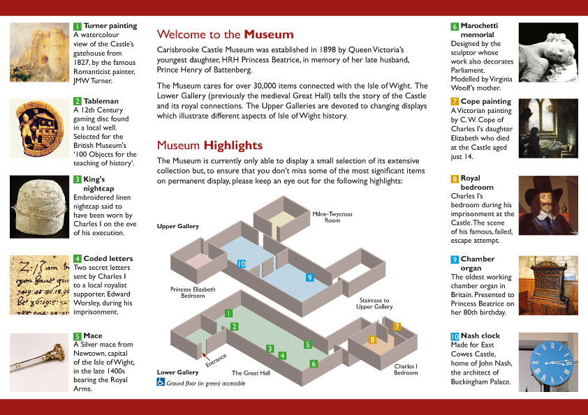 museum leaflet 2016